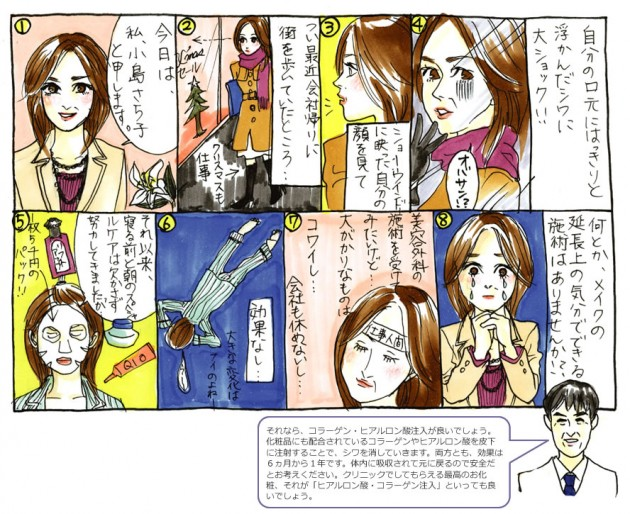 """Chapter""""3"""" ヒアルロン酸・コラーゲン注入"""